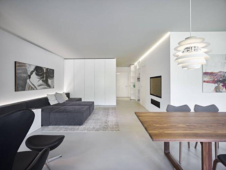 appartamento CW: Soggiorno in stile in stile Minimalista di Burnazzi  Feltrin  Architects