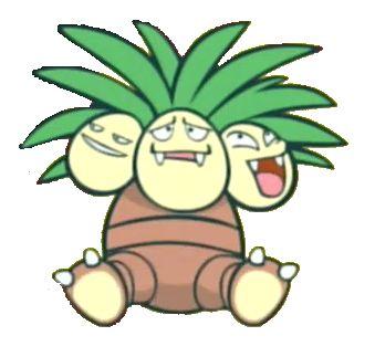 #exeggutor from the official artwork set for #Pokemon Channel on #Gamecube. http://www.pokemondungeon.com/pokemon-channel