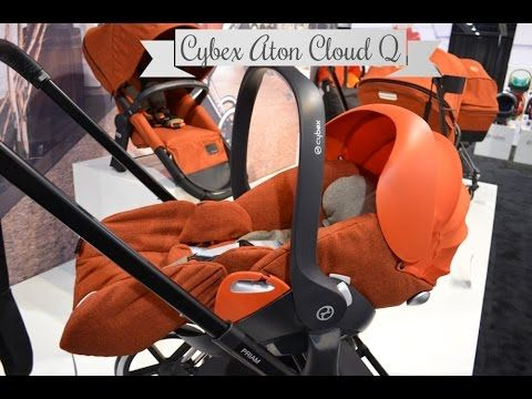 NEW! Cybex Aton Cloud Q Infant Seat ~ ABC Kids Expo 2014 Preview
