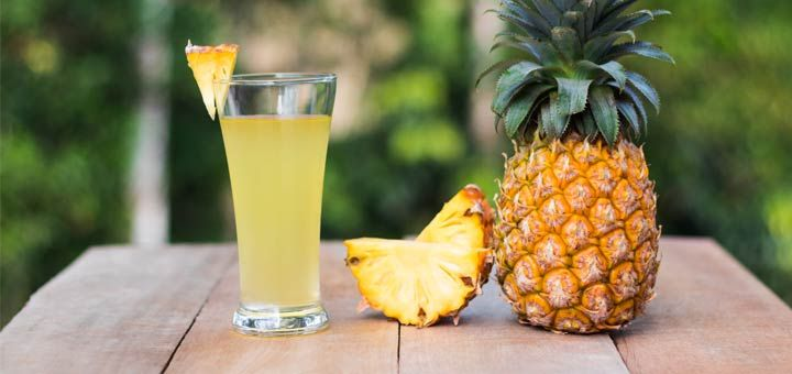 Valentine's day is one month away. Want to have great skin for the romantic day? Start drinking this cleansing pineapple juice. It will remove toxins, reduce inflammation, and help alkalize your body!