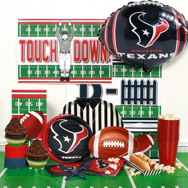 NFL Houston Texans Party Perfect Package for 8