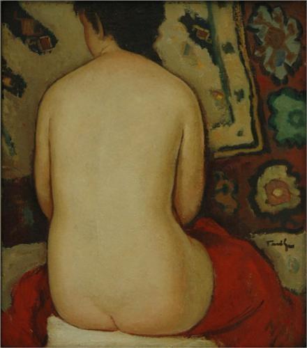 Nude - Nicolae Tonitza
