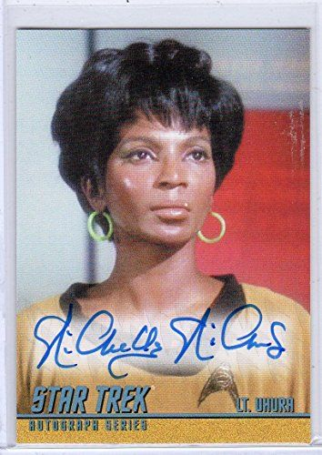 Star Trek TOS Heroes & Villains A268 Nichelle Nichols auto card @ niftywarehouse.com #NiftyWarehouse #StarTrek #Trekkie #Geek #Nerd #Products