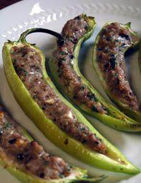 Gevulde pepers