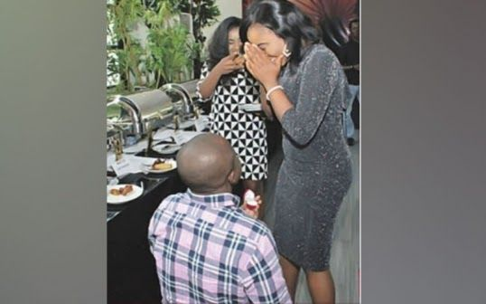 A married Nigerian man who threw a lavish birthday party for his side chick. And then the side chick's boyfriend proposed to her at the same party. If this doesnt take the weekly cup for bizarre situations then I dont know what will.  Social media comments alone are enough to entertain you for days. Some people are faulting the married man for being cuckolded on his own cash. Look if you are going to invest lots of money in a side chick then at the very least you should be assured that you…
