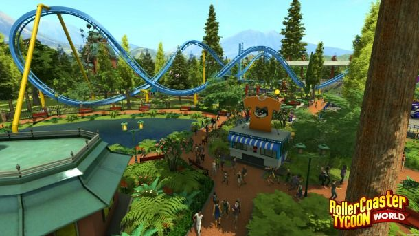nice RollerCoaster Tycoon World Receives Early Access Release Day