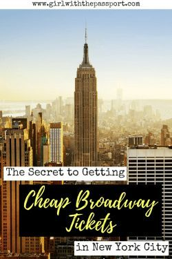 One of the biggest New York City things to do is to see a Broadway musical. So when planning New York City travel, check out this local's guide to getting some cheap tickets to Broadway shows.