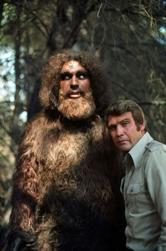 The Six Million Dollar Man with Sasquatch (played by Andre the Giant) who turned out to be a cyborg protector of a race of benevolent aliens (and least until rogue alien John Saxon tried to take over the earth in the sequel episodes.)