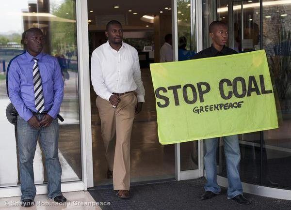 Activists Confront Eskom in Johannesburg