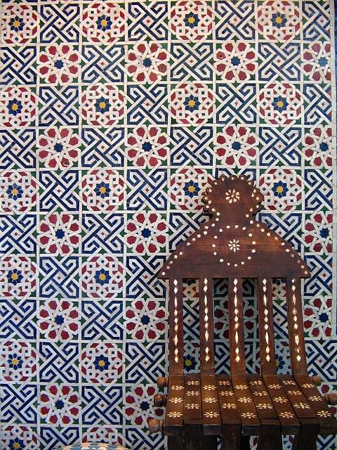 ha. i had took this picture at the old mosaic house showroom when i worked there years ago. #mosaic #moroccan #tile