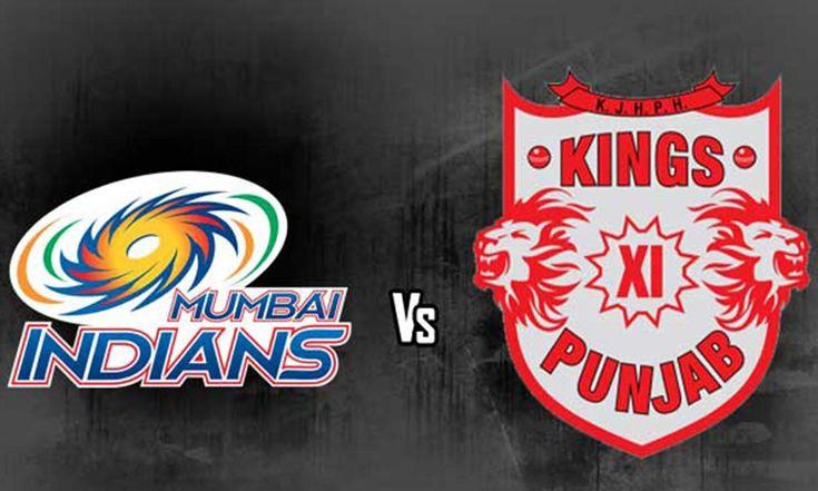 MUMBAI INDIANS VS KINGS XI PUNJAB IPL MATCH WILL TAKE PLACE ON FRIDAY MAY 13TH 2016