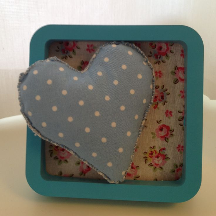 a nice idea for using your cotton heart!