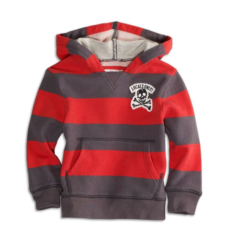 Rugby Pullover Hoodie for boys.  Great colors!
