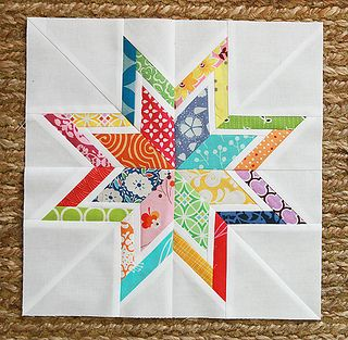 Yes to these bright colors!: Modern Quilts Blocks, Travel Quilts, Quilts Square, Stars Patterns, Stars Quilts, Paper Pieces, Pinwheels, Fresh Lemon, Quilts Ideas