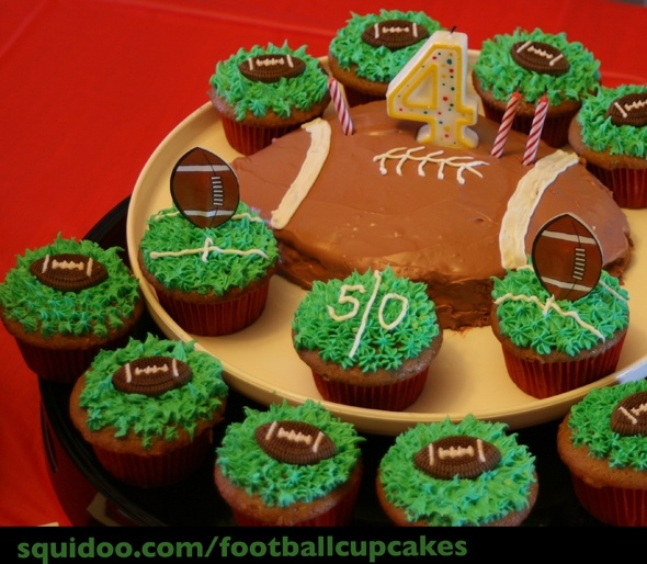 10 Best Ideas About Football Cupcake Cakes On Pinterest