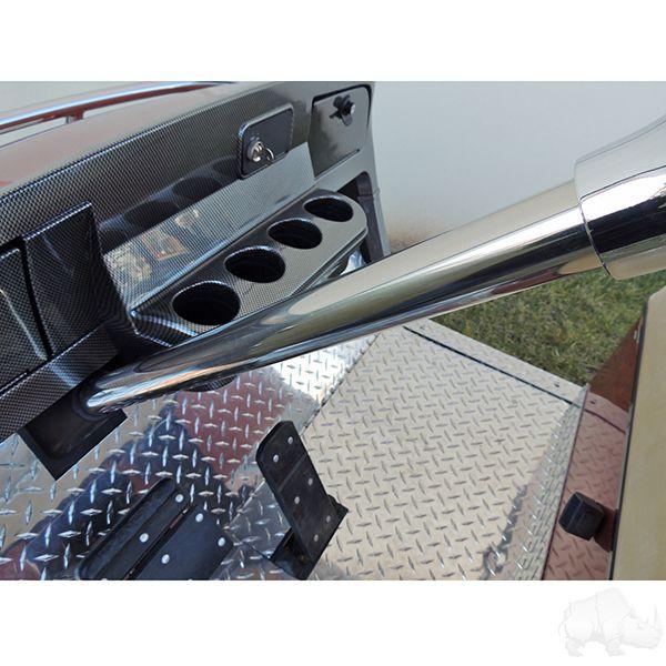 EZ-GO Golf Cart Steering Column Cover (Stainless Steel)