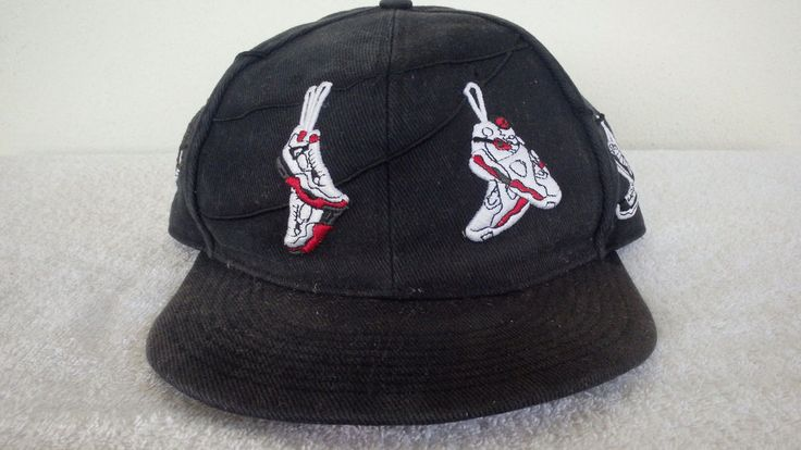 2010 Nike Air Jordan J's On A Wire Fitted Hat Blk/White 369551-010 Sz 7 1/4  Vntg | Michael jordan shoes