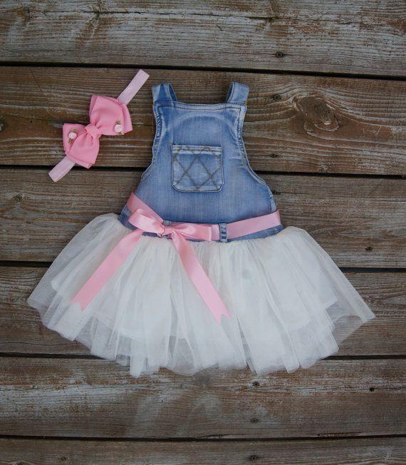 3134d1e30e Little girl dress. Tutu overalls. Baby girl by KadeesKloset