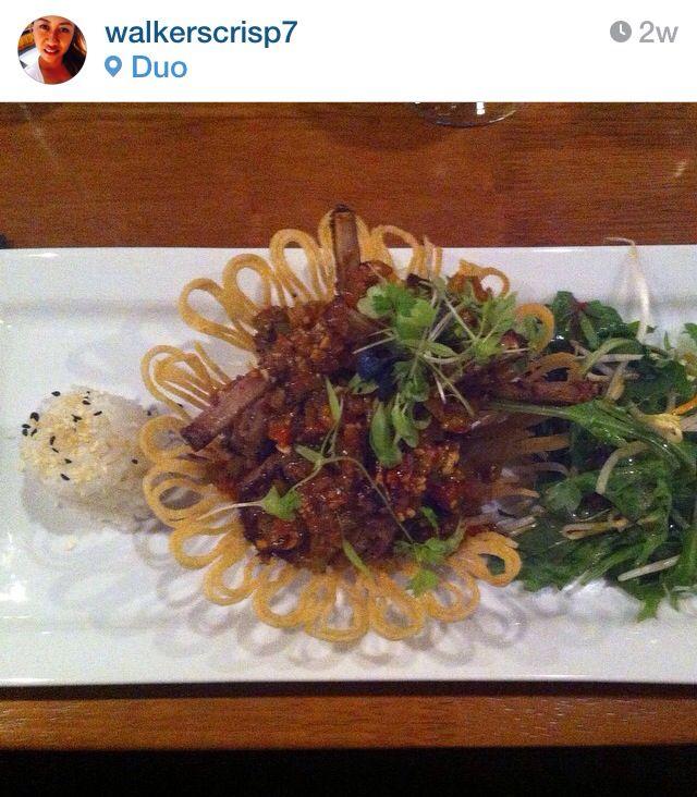 Asian fusion cuisine: