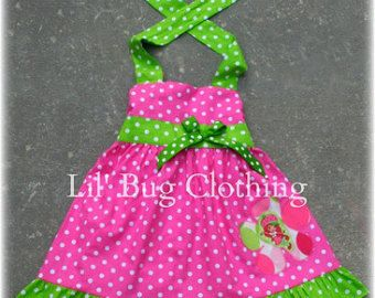 Strawberry Shortcake Dress Strawberry Shortcake Outfit Lime