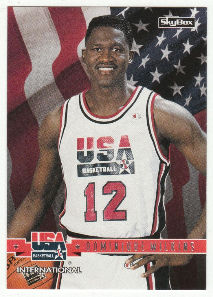 Dominique Wilkins 31 1994 SkyBox USA Basketball