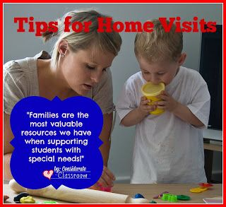 Considerate Classroom: Early Childhood Special Education Edition: Tips for Home Visits
