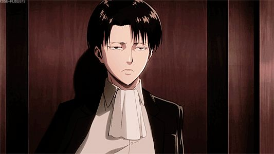 Levi Ackerman - I literally gasped when I saw him that moment