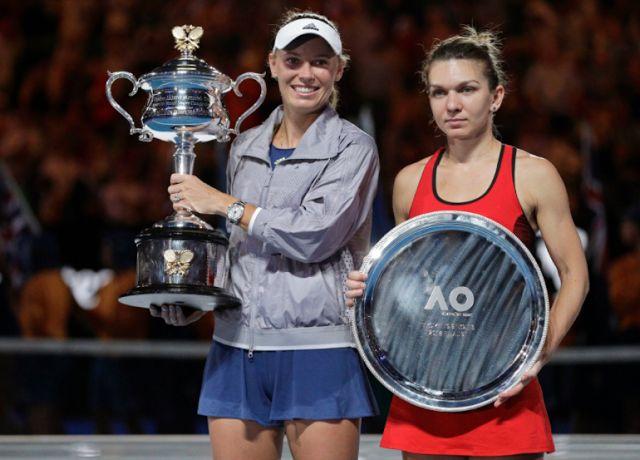 TOP TENNIS: Caroline Wozniacki 1 st Title slam and new Number ...