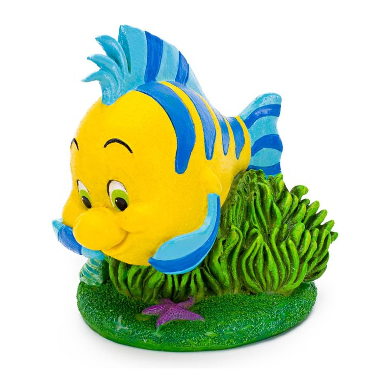 Penn+Plax+The+Little+Mermaid+Flounder+Aquarium+Ornament+-+Decorate+your+aquarium+with+The+Little+Mermaid+ornaments.+This+aquarium+ornament+provides+shelter+and+hiding+places+for+your+fish+to+alleviate+stress. - http://www.petco.com/shop/en/petcostore/penn-plax-the-little-mermaid-flounder-aquarium-ornament