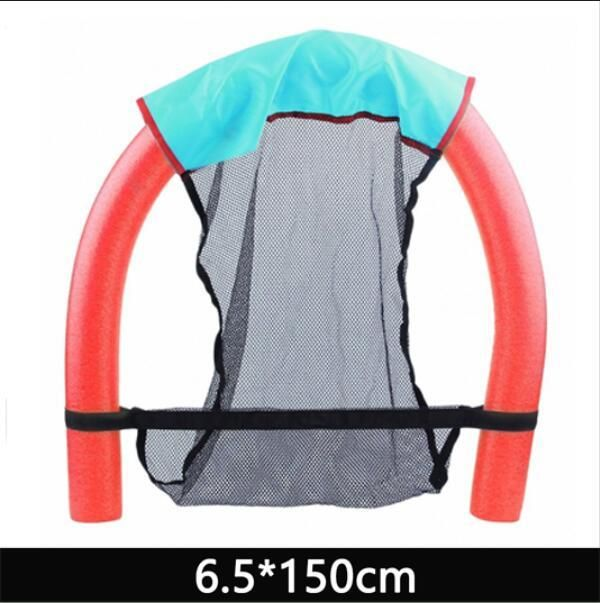 Swimming Learners Super Buoyant Foam Stick 6.5*150cm/7*130cm Floating Chair Rafts Swimming Pool Seat Bed Swim Aids Tool
