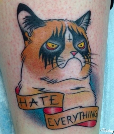 17 Best Images About Grumpy Cat In Art On Pinterest