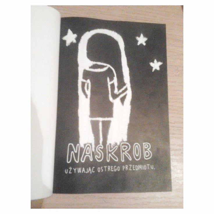 Podesłała Natalia Okłót #zniszcztendziennikwszedzie #zniszcztendziennik #kerismith #wreckthisjournal #book #ksiazka #KreatywnaDestrukcja #DIY