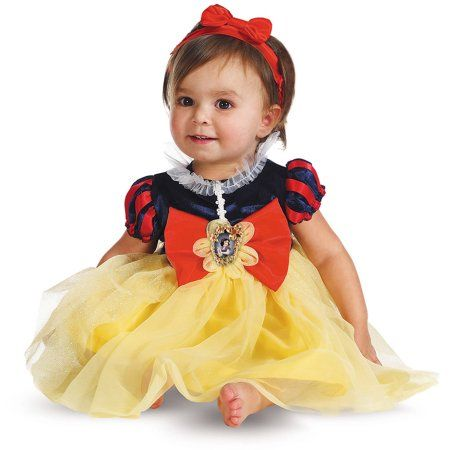 Snow White Deluxe Toddler Costume, Toddler Girl's, Size: 24 Months, Multicolor