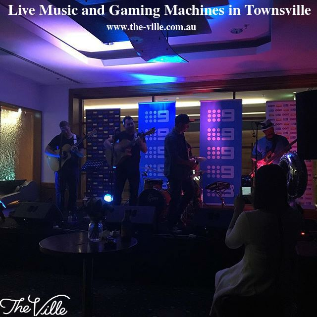 The Ville offers live Music, four bars and table games & gaming machines in Townsville. For a great night out here grab your tickets. For more information visit: http://www.the-ville.com.au/play/