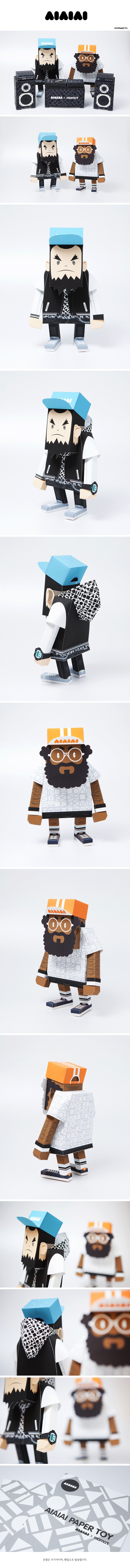 aiaiai   momot paper toys