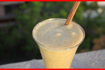 Buvez ce smoothie d'ananas, de cannelle et d'avoine pour renforcer les tendons et les ligaments de vos genoux ! (Recette)