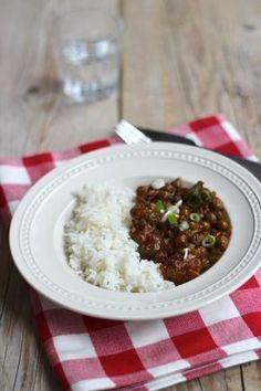 Kapucijnerschotel met rijst