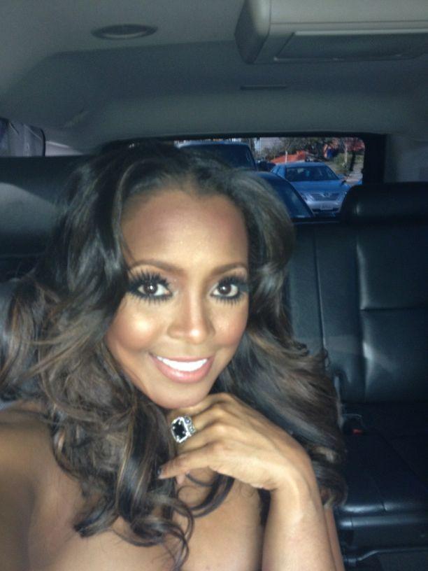 Miaisha Oliver celeb hair guru styles Kesha Knight, Rudy from The Cosby Show