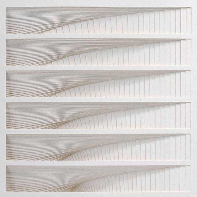 Stunning Paper Art By Matt Shlian Paper Art Geometric Sculpture