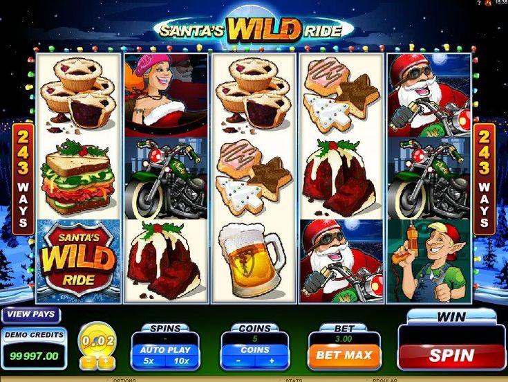 Nós acabamos de adicionar online grátis Caça-Níqueis Santa´s Wild Ride - http://cacaniqueis77.com/santas-wild-ride/ - http://cacaniqueis77.com