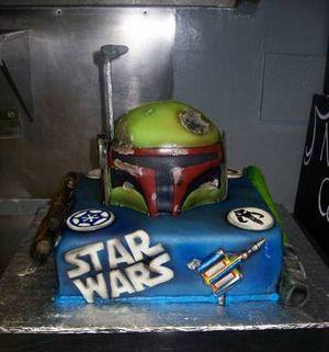 Star Wars Cake Ideas Pinterest