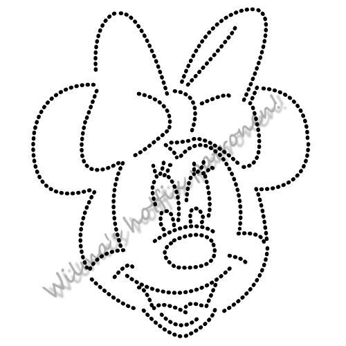 132 best rheinstone templates images on pinterest templates minnie mouse pronofoot35fo Gallery