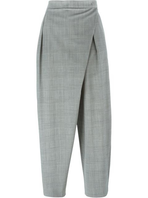 ANTONIO MARRAS  cropped cross front trousers