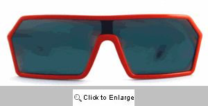 Retro Ski Patrol Wraps Sunglasses - 518 Red