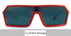 Retro Ski Patrol Wraps Sunglasses - 518 Red