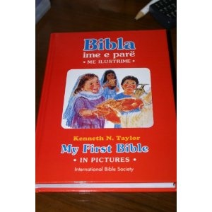 Albanian Children's Bible - Bibla Ime E Pare - My First Bible in Pictures $24.99