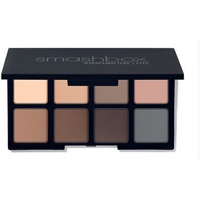When Smashbox noticed that their makeup artists use matte eye shadows as brow powder and liner on shoots in their L.A. photo studio, they knew they had to create a do-it-all formula just for eyes. Eac
