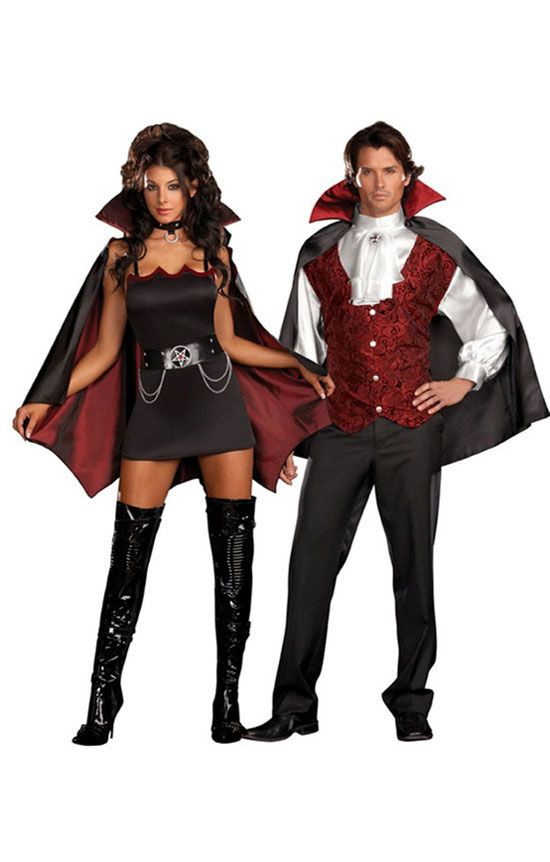 vampire couples halloween costume halloween costumes what a great costume - Couple Halloween Costumes Scary