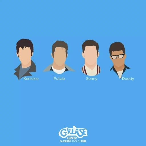 kenckie, putzie, sonny, and doody grease live! poster