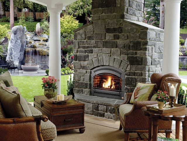 41 best eldorado stone grey profiles images on pinterest for Eldorado outdoor fireplace